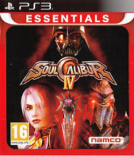 Soul Calibur IV PS3 Sony PlayStation 3 Brand New Star Wars Dart Vader Game