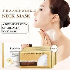 5Pcs Neck Masks Collagen Whitening Anti-Aging Nourishing Firming Moisturizing