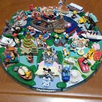 Tokyo Disney Resort Diorama figure set 25th Anniversary FIGURE JAPAN F/S