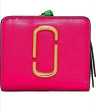 MARC JACOBS ❤ Snapshot Mini Compact Diva Multi Pink Wallet