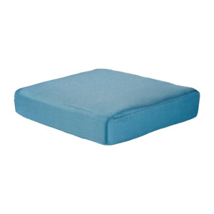 Washed Blue Cushion For The Martha Stewart Living Charlottetown Outdoor Ottoman