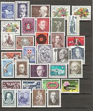 Österreich 1974 Kompletter Jahrgang Postfrisch ** MNH