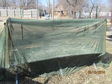NEW US ARMY INSECT MOSQUITO NET BAR MILITARY FIELD NETTING COT COVER GREEN TENT