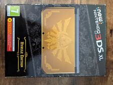 NEW NINTENDO 3DS XL ZELDA HYRULE EDITION LIKE NEW CONDITIONS PAL