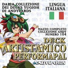Yu-Gi-Oh! Mazzo ARTISTAMICO Completo ☻ Collezione Deck 104 ☻ ANDYCARDS YUGIOH