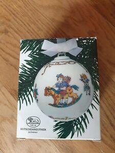 Hutschenreuther Weihnachtskugel 1986 mit OVP