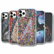 Para iPhone 11 PRO MAX Silicona Funda Cubierta Marvel Avengers Collection 5