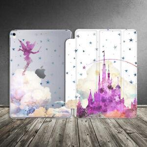 Case For iPad Air Mini Pro 12.9 11 10.5 9.7 10.2 Disney Fairy Girl Castle Stars
