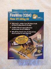 Firewire 1394 3-Port PCI DV Editing Kit Deluxe Ulead VideoStudio 6.0 DV Cable