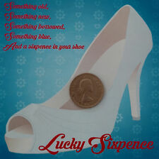 Wedding Sixpence For Your Bridal Shoe On Card Bridal Shower Gifts Gift Boxed