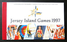 """Jersey Sportspiele """"Island Games 1997"""", MH 10 postfrisch (P1009)"""