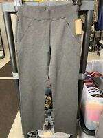 Duluth Trading Co. Women's Wearwithall Ponte Knit Straight Leg Pants XSx33, NEW!