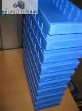 10x Regalkasten RK 400 blau Kiste SSI Schäfer Box Behälter Kasten 408x162x66