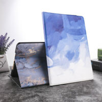 "For Apple iPad 10.5"" Air 3 2019 Luxury PU Leather Case Marble Smart Cover Stand"