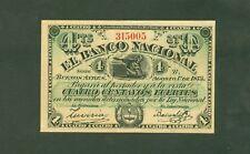 ARGENTINE (PICK SPECIALISE S.641a) PROVINCIA DE BUENOS AYRES 4 CENTAVOS de 1873