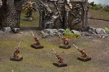 Warhammer Fantasy Skaven AoS Clan Verminus - 5 Slaves, well painted (oop metal)