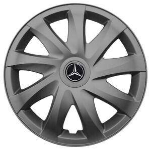 16'' Wheel trims for Mercedes Sprinter II 2006 - on gunmetal 4x16''