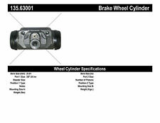 Drum Brake Wheel Cylinder-C-TEK Standard Wheel Cylinder Rear Centric 135.63001