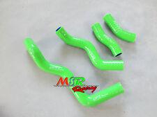 for Kawasaki KLX250 KLX 250 1993-2000 94 95 96 97  silicone radiator hose green
