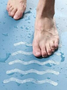 tappeto gommini gomma antiscivolo doccia vasca sicurezza tappetino adesivi