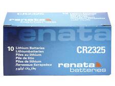 10 x Renata CR2325 3V Pila Batteria Cell Coin replace CR BR DL ECR KCR ML 2325