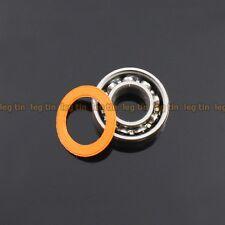 [2 pcs] SMR686c 6x13x5 mm Hybrid Stainless Steel Ceramic Ball Bearing (ABEC 7)