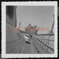 1950S ALAMEDA POSEY WEBSTER ST TUBE TUNNEL OAKLAND VTG FOUND PHOTO CARS ARTISTIC