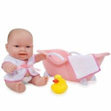 Jc Toys Adorable Nursery Lots to Love 10'' baby Doll in bathtub w/towel & Duck