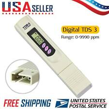 Digital LCD TDS3 PPM Meter Tester Home Drinking Tap Water Quality Purity Test US