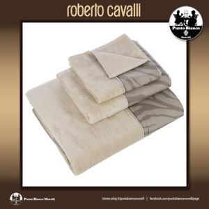 ROBERTO CAVALLI HOME | MACRO ZEBRAGE Set terry towel or bath sheet