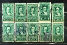 USA $2 X 10 Stock Transfer-- Series 1943-- Old Stamps