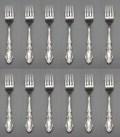 Oneida Stainless DOVER (Glossy) Salad Forks - Set of Twelve * Oneida USA
