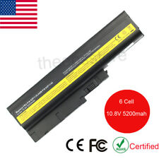 "Battery for IBM Lenovo ThinkPad T60 T61 T61P R60 R60e R61 15.4"" widescreens US"