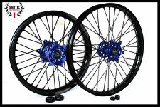 "WHEELS SET YAMAHA YZF 250 YZ250F YZ450F 21"" & 19"" BLACK RIMS 2014/ 18"
