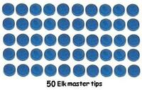 ELKMASTER / ELK MASTER SNOOKER CUE TIPS. ALL SIZES - 8mm to 13 MM