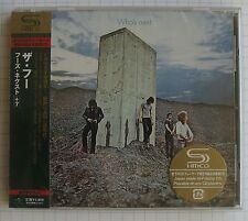 THE WHO - Who's Next + 7 BONUS JAPAN SHM CD OBI NEU RAR! UICY-90761 SEALED