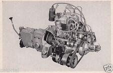 GUTBROD SUPERIOR LUXUS 700 * Motor - Darstellung * orig. Sammelbild *