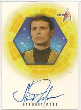 Star Trek 35th Anniversary TOS Autograph Card A15 Stewart Moss Hanar