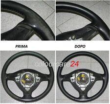 Kit Rinnova Colore Volante Pelle Ford NERO Ritocco Interni Fiesta Titan dal 2007