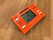 Rare Tandy Shark Island 1984 LCD HandHeld Electronic Game - Very Good Condition
