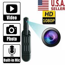 1080P HD Pocket Pen Camera Hidden Spy Mini Body Video Recorder DVR Portable US
