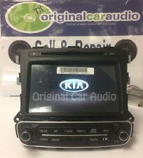2014 2015 Kia Sorento OEM Infinity Navigation CD MP3 Sirius Bluetooth radio