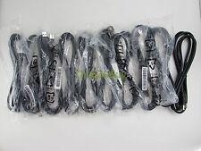 Lot of 10 (TEN) NEW USB 3.0 SuperSpeed 5Gbps Cables Type A Male to B Male 6ft
