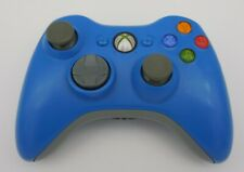 Blue Xbox 360 WIRELESS CONTROLLER Tested and Works!