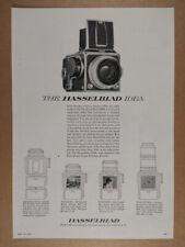 1957 Hasselblad 1000F Camera vintage print Ad
