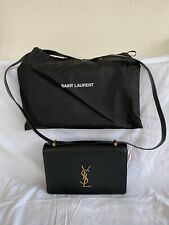 Yves Saint Laurent Dylan Bag Tasche Crossbody Schwarz Leder
