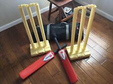 Ram Junior crazy cricket set. 15 piece. Strong plastic.