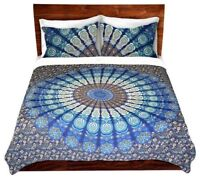 Indian Double Mandala Bedding Bed Cover Dorm Decor Wall Hanging Tapestry Throw