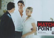 MATCH POINT - Lobby Cards Set - Scarlett Johansson, Jonathan Rhys-Meyers