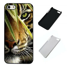 Hunting Tiger plastic phone Case Fits iPhone